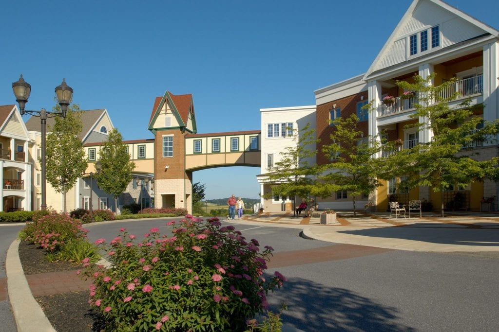 Pleasant View retirement village exterior