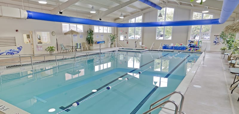 Pool at Brethren Village Retirement home