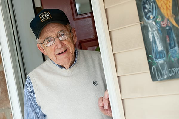 Stan Dahl, a Calvary Homes Community resident