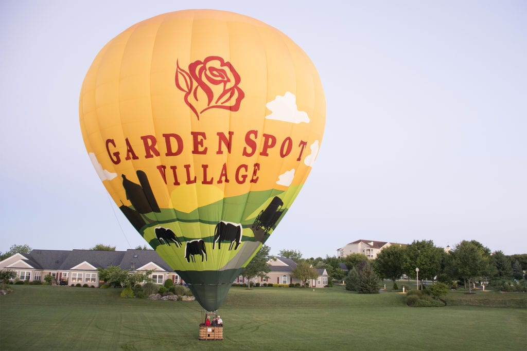 Garden Spot Village Balloon Rides