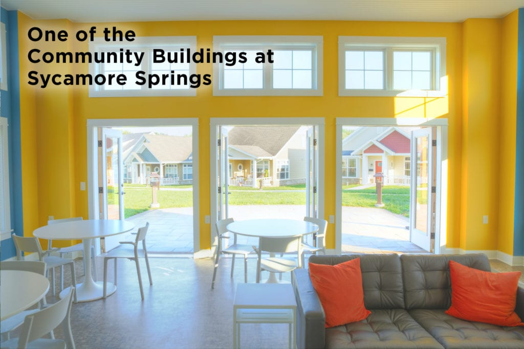 Community building at Garden Spot Village retirement