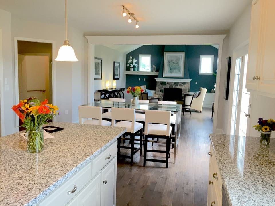Dining & Living Space at Homestead Village