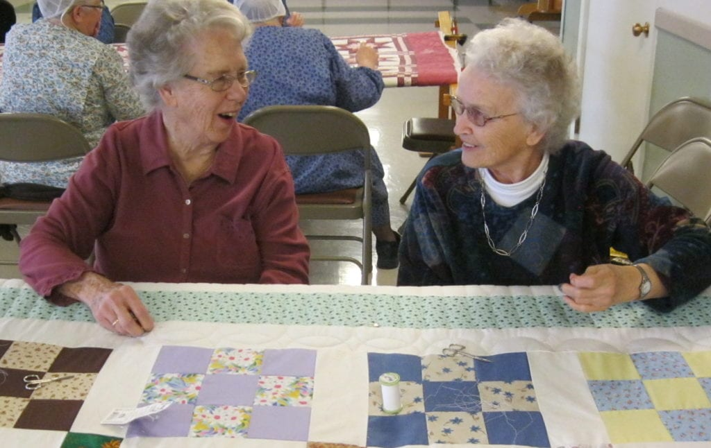 Fairmount Retirement Home quilt club