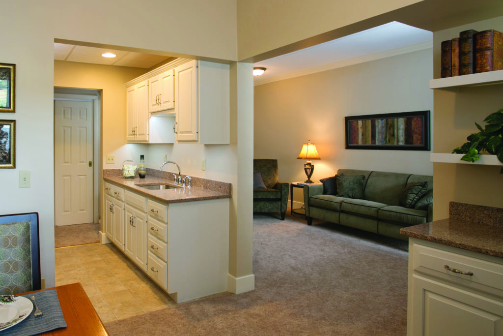 Luthercare living space example