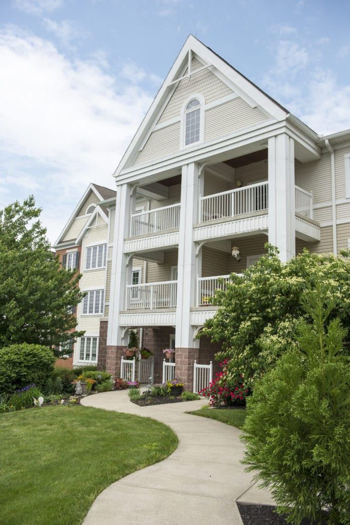 Pleasant View Retirement townhome exterior