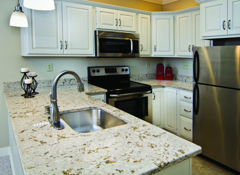 Kitchen example at St. John's Herr Retirement Estate
