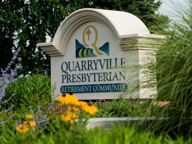 Quarryville Presbyterian Retirement Community sign