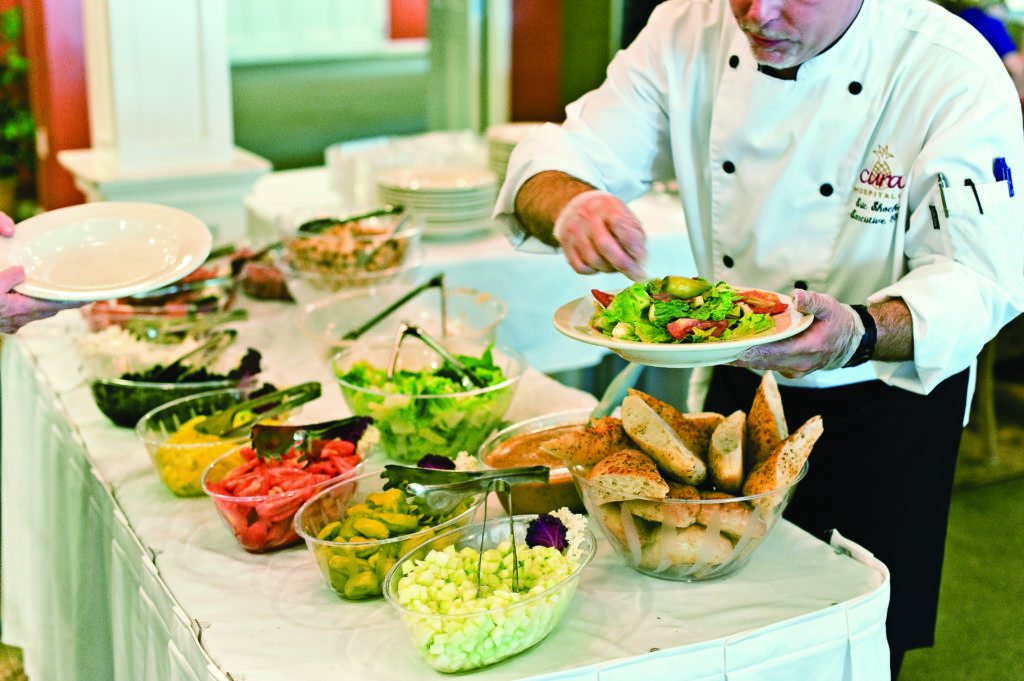 Dining experience at Homestead Village Community