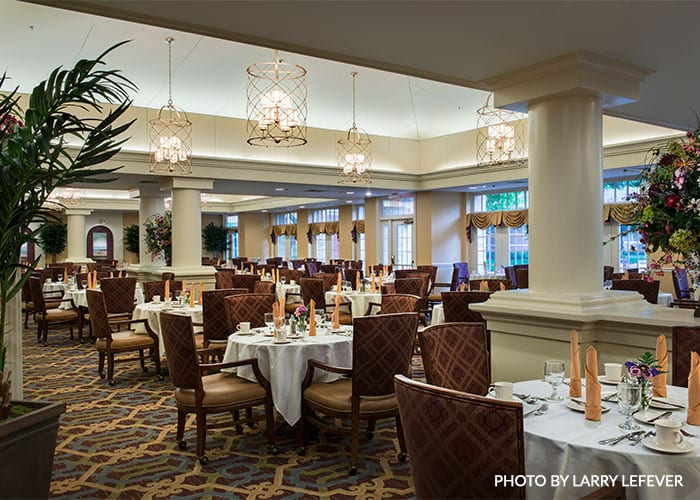 Masonic Village Retirement community dining experience