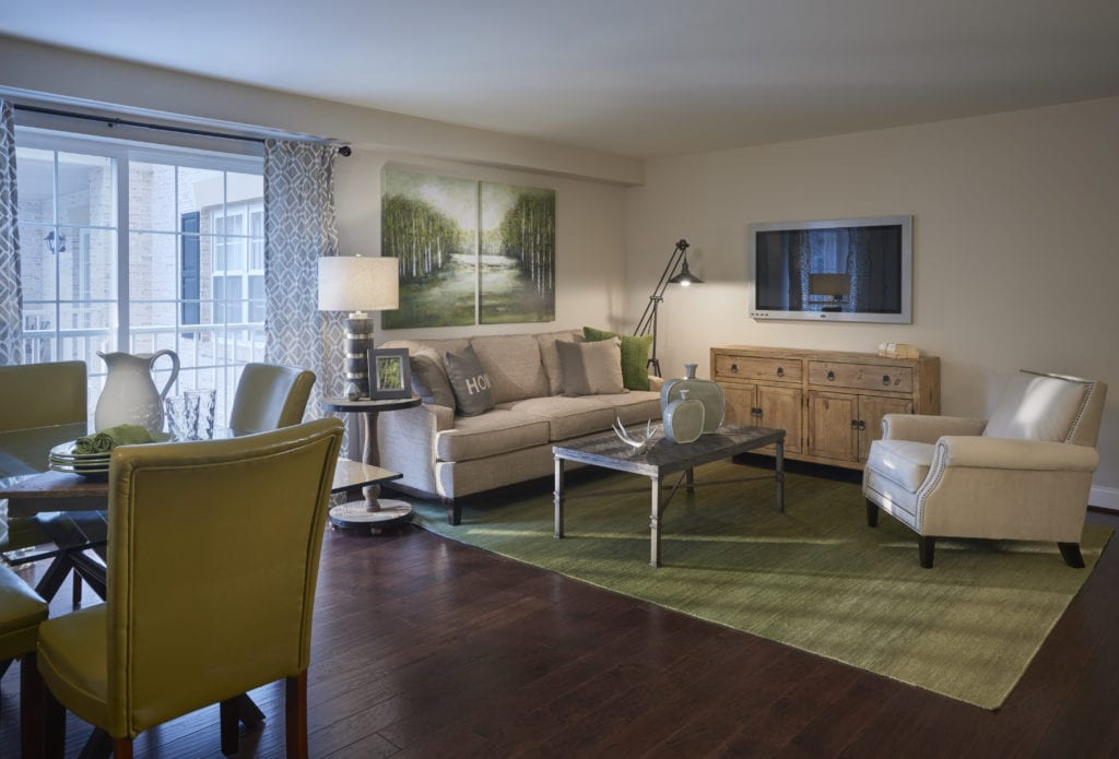 Willow Valley Retirement Living room example