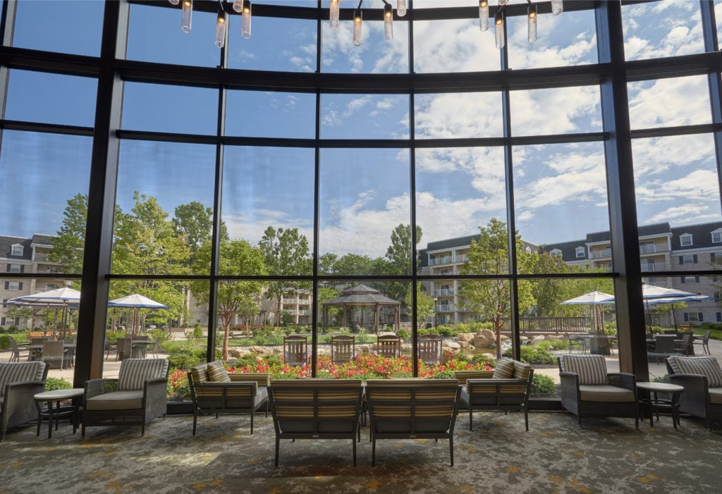 North Atrium at Willow Valley Retirement